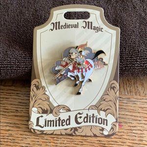 Disney LE Medieval Magic Mickey Pin